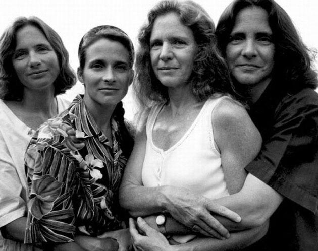 The Brown Sisters in 1995
